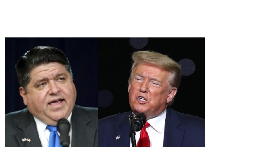 Pritzker and Trump Disagree on Illinois Reopening