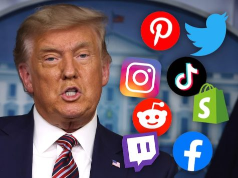 Trump Banned from Social Medias